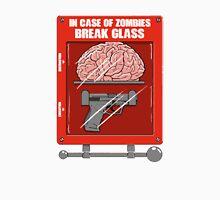 In Case of Zombies Break Glass Unisex T-Shirt