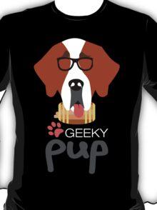 Geeky Pup - St. Bernard T-Shirt