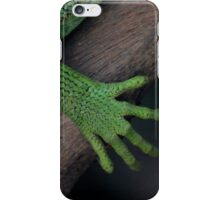 Iguana ~ these feet have been places iPhone Case/Skin