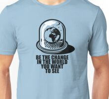 World Snow Globe - Gandhi Philosophy Unisex T-Shirt