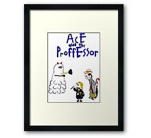 Ace and the Professor Framed Print