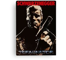 Terminator cover Canvas Print