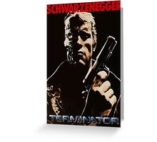 Terminator cover Greeting Card