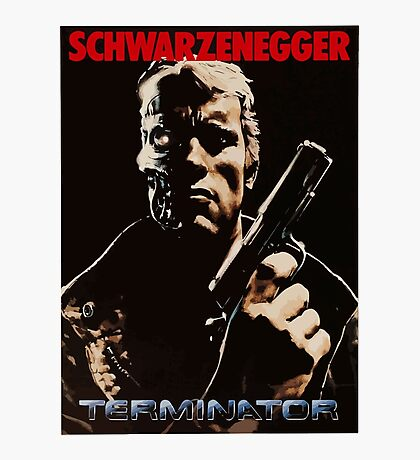Terminator cover Photographic Print