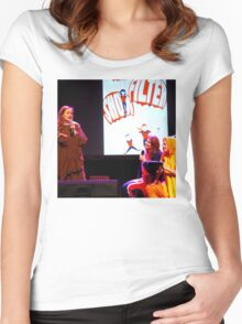 No filter show London 7th May Women's Fitted Scoop T-Shirt