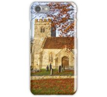 Codford St Mary Church, Wiltshire, United Kingdom. iPhone Case/Skin
