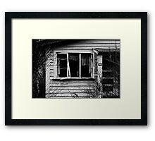 Quiet desperation Framed Print