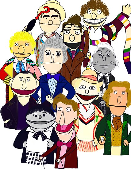 The Doctors Muppet Style by Qooze