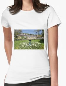 The Town of Bradford on Avon, Wiltshire, United Kingdom. Womens Fitted T-Shirt