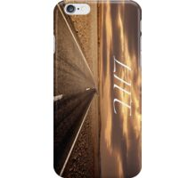 Highway desert iPhone Case/Skin