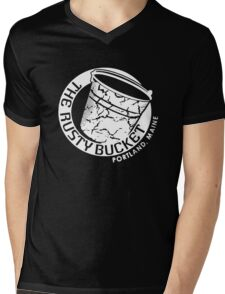 The Rusty Bucket Bar Mens V-Neck T-Shirt