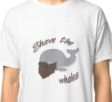 Funny Shave the Whales Classic T-Shirt