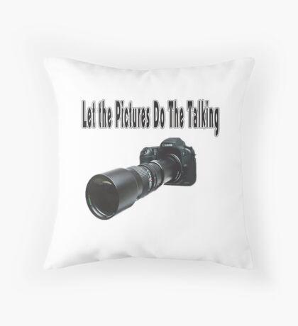 ♂ ♀ ∞ ☆ ★ Camera With Telephoto Lense - Throw Pillow♂ ♀ ∞ ☆ ★ Throw Pillow