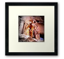 I don't know... and you? Framed Print