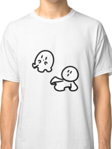 Cute Tiny Ghosts Classic T-Shirt