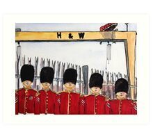 Guarding Our Heritage  Art Print