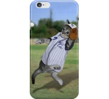 Baseball Catcher Kitten iPhone Case/Skin
