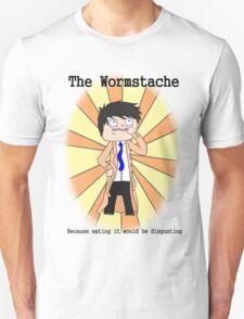 The Wormstache Unisex T-Shirt