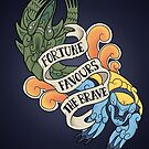 fortune favours the brave by halfabubble