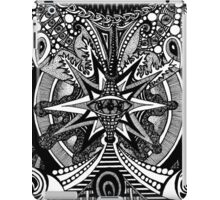 Retro (B&W.16) iPad Case/Skin
