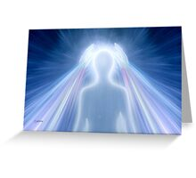 Healing Rays Greeting Card