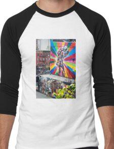 NYC Street Art Men's Baseball ¾ T-Shirt