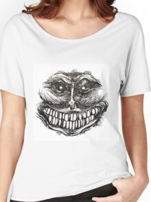 Creepy Face Women's Relaxed Fit T-Shirt