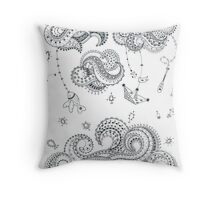 Waves - Salty tales Throw Pillow