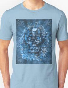 floral skull 4 Unisex T-Shirt
