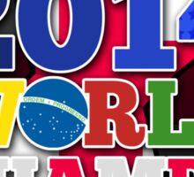 2014 World Champs Ball - England Sticker