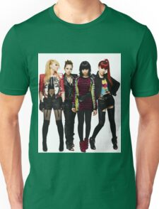2NE1 CL DARA BOM MINZY KPOP Unisex T-Shirt