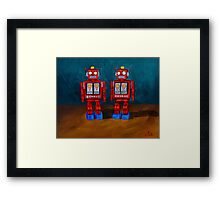 Blue Shoes  Framed Print