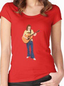 Tribute: Glenn Frey Women's Fitted Scoop T-Shirt