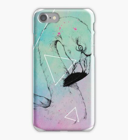 Neon Flamingo  iPhone Case/Skin