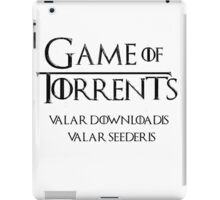 Game of Torrents iPad Case/Skin