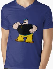 bluto Mens V-Neck T-Shirt