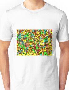 """BOINGO"" animal doodle colour cartoon Unisex T-Shirt"
