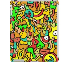 """BOINGO"" animal doodle colour cartoon iPad Case/Skin"