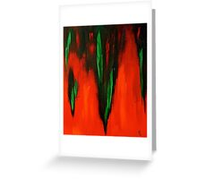 Born in the fire of life Greeting Card