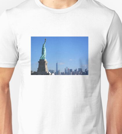 Watching over the city Unisex T-Shirt