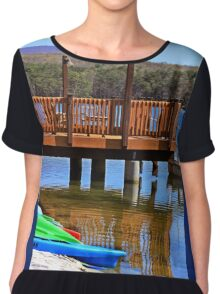 Reflection Chiffon Top