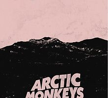 Arctic Monkeys AM Desert Poster by KunFuzi