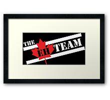 The EH Team Framed Print