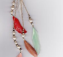 Feather Necklace by Lexie Fenn
