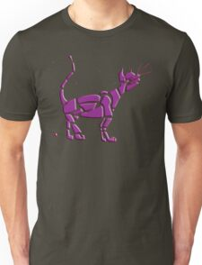 Cat Universe Purple Overlay Unisex T-Shirt