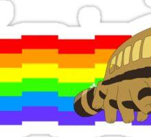 Nyan Cat Bus Sticker