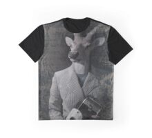 Vintage Deer Graphic T-Shirt