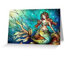 The Serene Siren Greeting Card