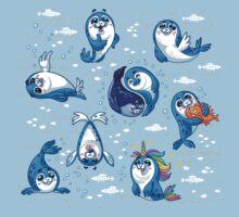 Baby Seal Kids Tee