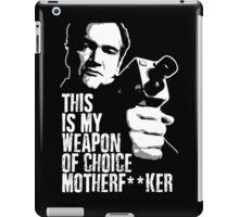 Quentin Tarantino - Weapon of Choice iPad Case/Skin